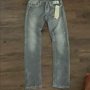 Miss Me Gray Jeans
